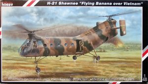 "SPECIAL HOBBY 48062 - 1:48 H-21 Shawnee ""Flying Banana over Vietnam"""