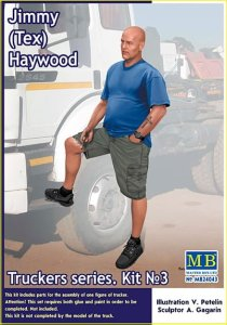 MASTER BOX 24043 - 1:24  Jimmy (Tex) Haywood Truckers series 3