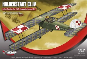 MIRAGE 481403 - 1:48 Halberstadt CL.IV Polish-Russian War