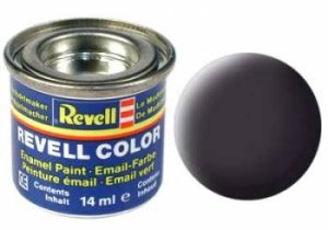REVELL 06 - Matt Tar Black 14 ml
