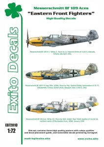 EXITO DECALS ED72010 - 1:72 Eastern Front Fighters