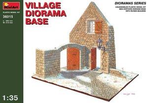 MINIART 36015 - 1:35 Village Diorama Base