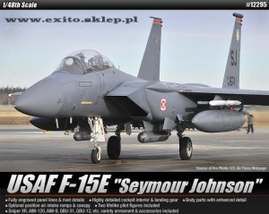 ACADEMY 12295 - 1:48 USAF F-15E Seymour Johnson