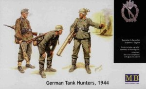 MASTER BOX 3515 - 1:35 German Tank Hunters 1944