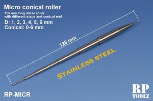 RP TOOLZ RPMICR - Micro Conical Roller tool