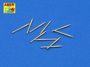 ABER 1:350L-01  - 1:350 Set of 10 pcs 203 mm barrels for Japan ships