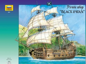 ZVEZDA 9031 - 1:72 Black Swan - Pirates Ship