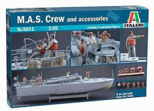 ITALERI 5611 - 1:35 M.A.S. Crew and Accessories