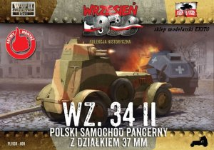 FIRST TO FIGHT 009 -  September 1939 - 1:72 Polish armoured car Wz.34 II