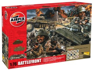 AIRFIX 50009A - 1:76 D-Day 75th Anniversary Battle Front