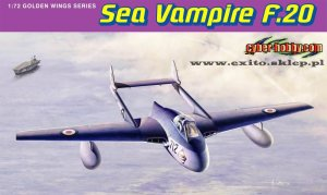 DRAGON / CYBER HOBBY 5112 - 1:72 Sea Vampire F.20