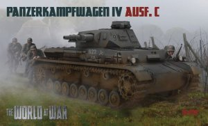 IBG The World At War W-010 - 1:76 Pz.Kpfw.IV Ausf.C