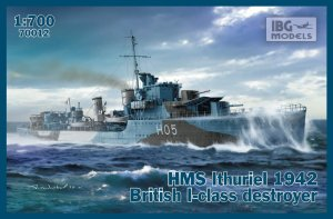 IBG 70012 - 1:700 HMS Ithuriel 1942 British I-class destroyer