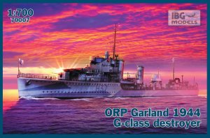 IBG 70007 - 1:700 ORP Garland 1944 G-class destroyer