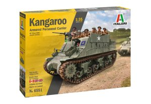 ITALERI 6551 - 1:35 Kangaroo Armored Personnel Carrier (M7 Priest HMC chassis Version)