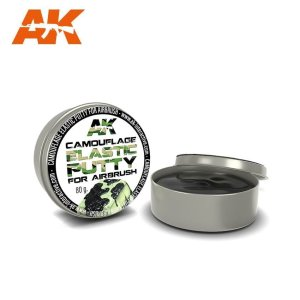 AK INTERACTIVE 8076 - Camouflage Elastic Putty 80g