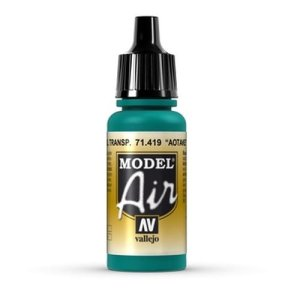 VALLEJO 71419 -  Aotake Translucent Blue 17 ml - Model Air