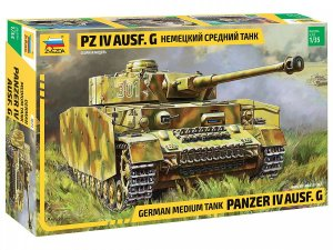 ZVEZDA 3674 - 1:35 Panzer IV Ausf.G German Medium Tank
