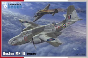 SPECIAL HOBBY 72398 - 1:72 Boston MK. III Intruder