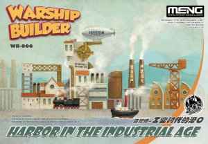 MENG MODEL WB006 - Warship Builder - Harbor In the Industrial Age
