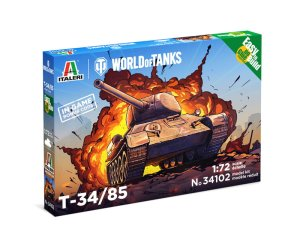 ITALERI 34102 - 1:72 World of Tanks - T-34/85