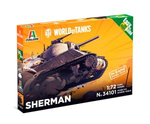 ITALERI 34101 - 1:72 World of Tanks - Sherman