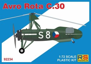 RS MODELS 92234 - 1:72 Avro Rota C.30