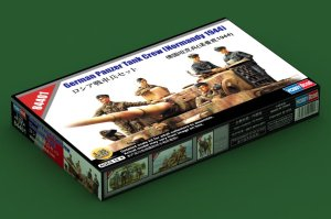 HOBBY BOSS 84401 - 1:35 German Panzer Tank Crew (Normandy 1944)