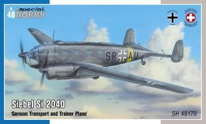 SPECIAL HOBBY 48170 - 1:48 Siebel Si 204D German Transport and Trainer Plane