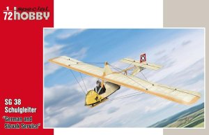 SPECIAL HOBBY 72319 - 1:72 SG 38 Schulgleiter German and Slovak Service