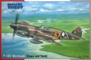 SPECIAL HOBBY 72338 - 1:72 P-40E Warhawk - Claws and Teeth