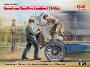 ICM 24018 - 1:24 American Gasoline Loaders (1910s)