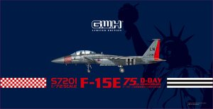 GREAT WALL HOBBY S7201 - 1:72 F-15E 75th D-Day Anniversary