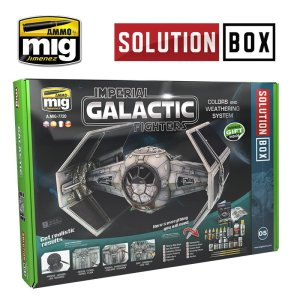 AMMO MIG 7720 - Imperial Galactic Fighters Colors and Weathering System Solution Box