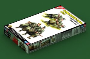 HOBBY BOSS 84420 - 1:35 German Infantry - taking  a rest