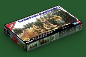 HOBBY BOSS 84404 - 1:35 German Panzer Grenadiers Vol.1