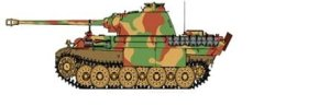 BORDER BD0024 - 1:35 Camouflage masking sheet for Panther A/G