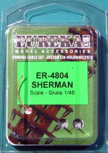 EUREKA XXL ER-4804 - 1:48 towing cable for M4 Sherman