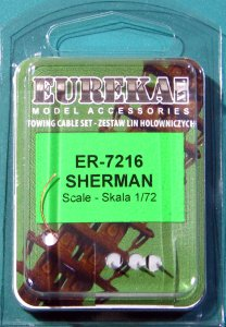 EUREKA XXL ER-7216 - 1:72 towing cable for M4 Sherman