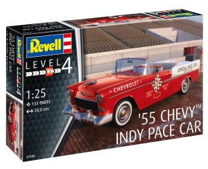 REVELL 67686 - 1:25 1955 Chevy Indy Pace Car