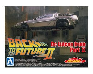 AOSHIMA 05476 - 1:43 De Lorean from Part II Back to the Future