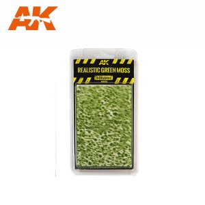 AK INTERACTIVE 8132 - Realistic Green Moss