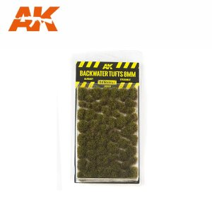 AK INTERACTIVE 8128 - Backwater Tufts 8 mm