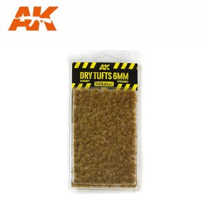 AK INTERACTIVE 8117 - Dry Tufts 6 mm