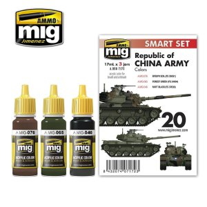 AMMO MIG 7172 - Republic of China Army (Taiwan) Colors - Smart Set