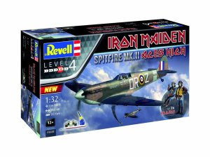 REVELL 05688 - 1:32 Spitfire Mk.II Aces High Iron Maiden