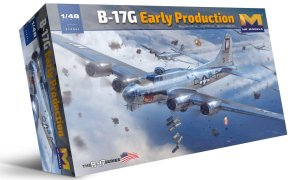 HK MODELS 01F001 - 1:48 B-17G Flying Fortress - early production