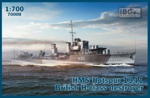 IBG 70009 - 1:700 HMS Hotspur 1941 British H-Class Destroyer