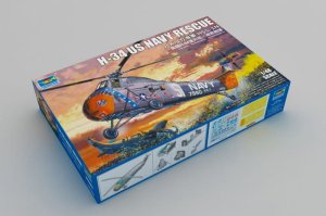 TRUMPETER 02882 - 1:48 H-34 US Navy Rescue