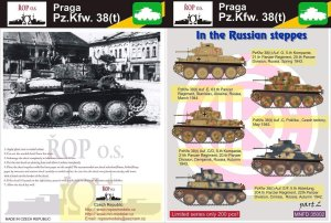 ROPOS MNFDT35002 - 1:35 Praga Pz.Kpfw. 38(t) - In the Russian steppes